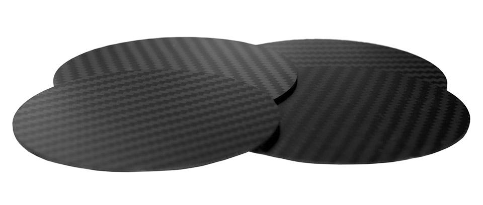 Carbon Fiber Coasters