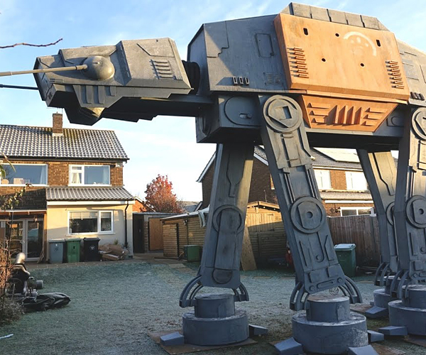Colin Furze's Star Wars AT-ACT