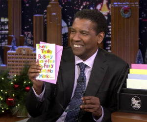 Denzel Reads Greeting Cards