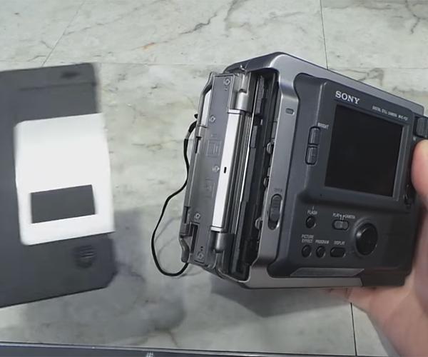 Disk Based Cameras