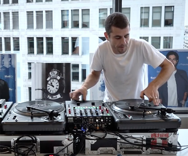 DJ Brace Spins Some Magic