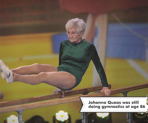 Amazing Elderly Accomplishments