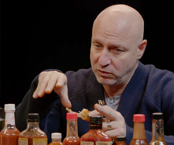Tom Colicchio Vs. Hot Wings