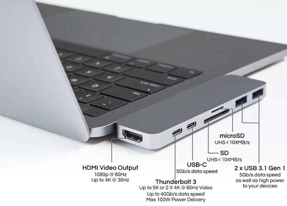 HyperDrive for MacBook Pro