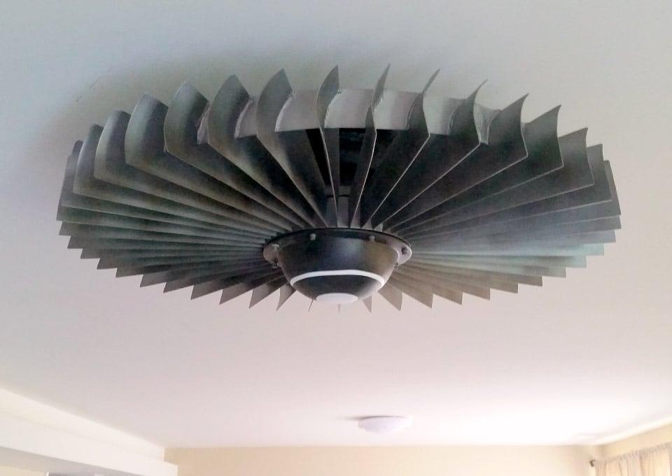 Jet Engine Ceiling Fans