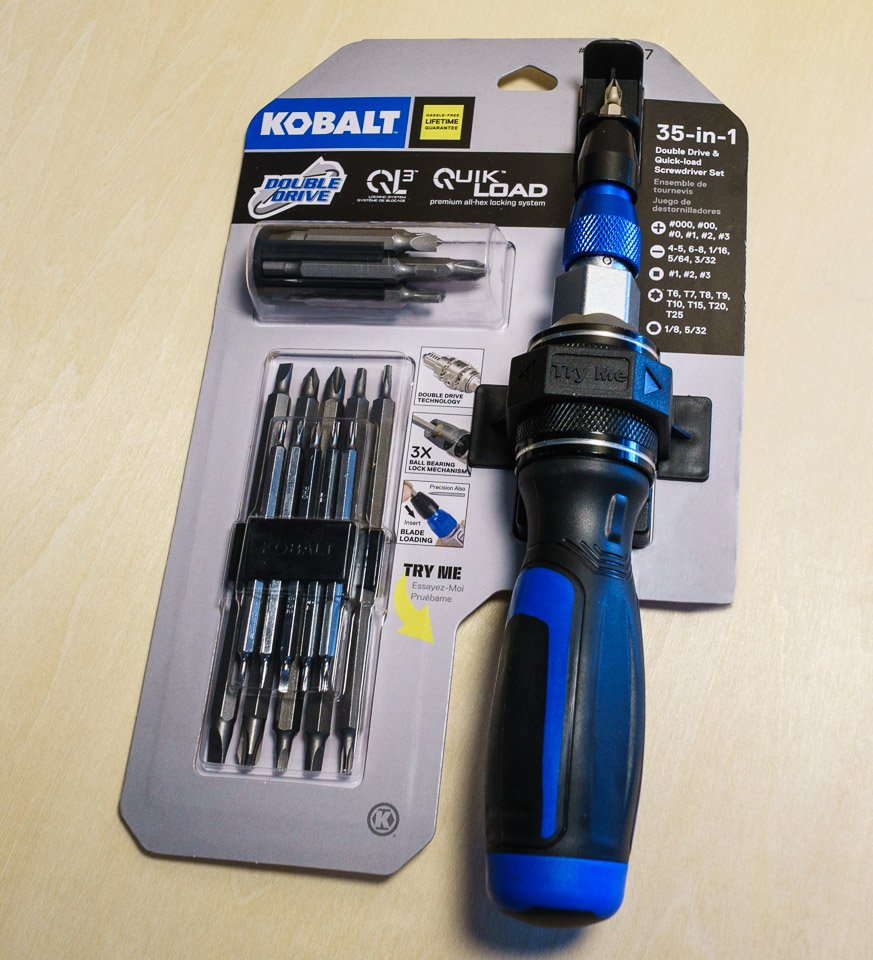Kobalt Double-Drive Screwdriver