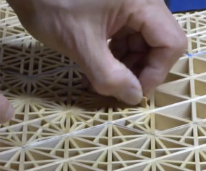 Making Kumiko Lattice