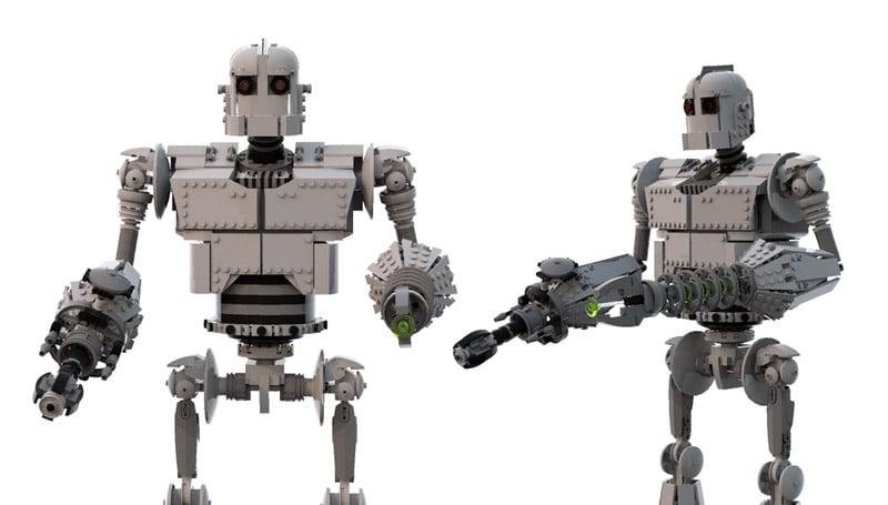 LEGO Ideas: Iron Giant
