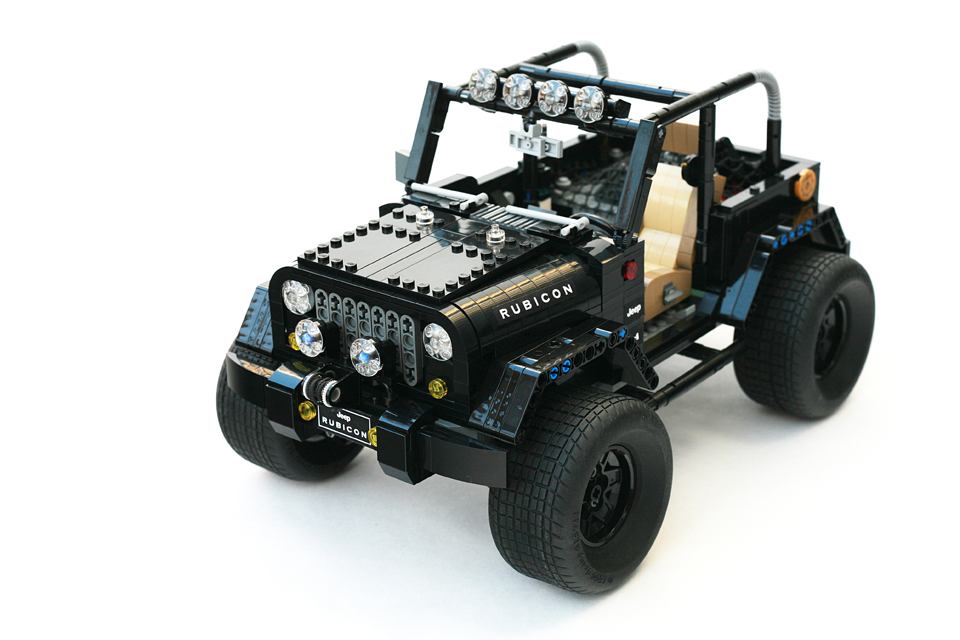 LEGO Jeep Wrangler Rubicon Concept