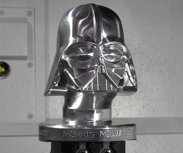 Machining Darth Vader
