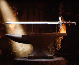 Making the Sword of Altair