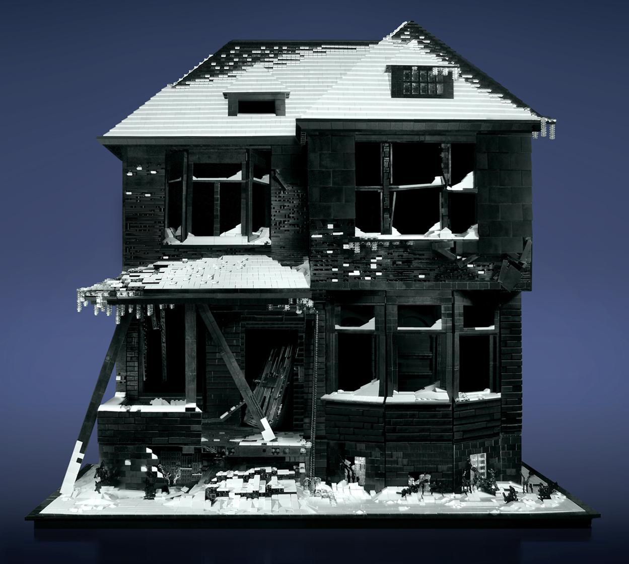 Abandoned LEGO Houses