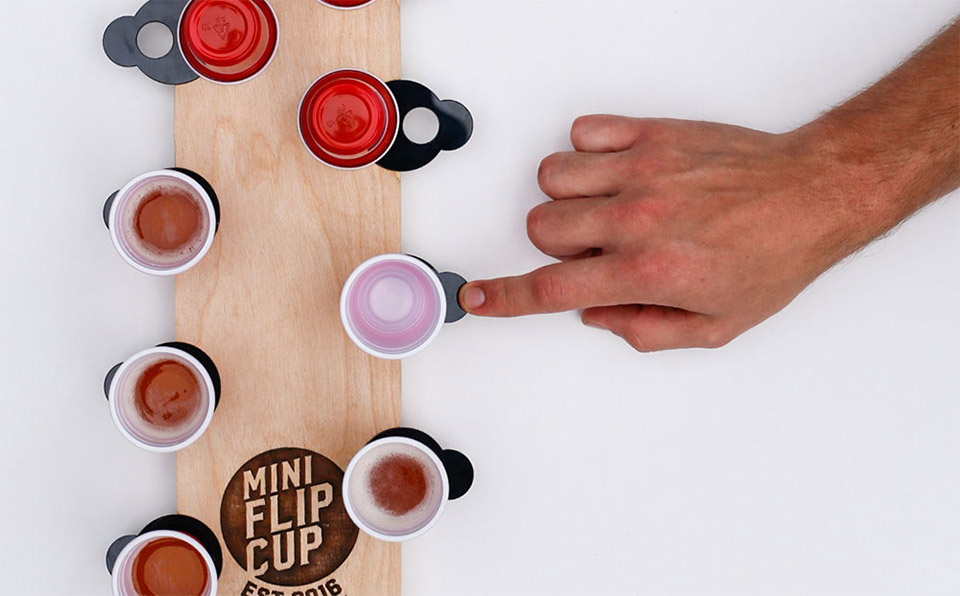 Deal: Mini Flip Cup Set
