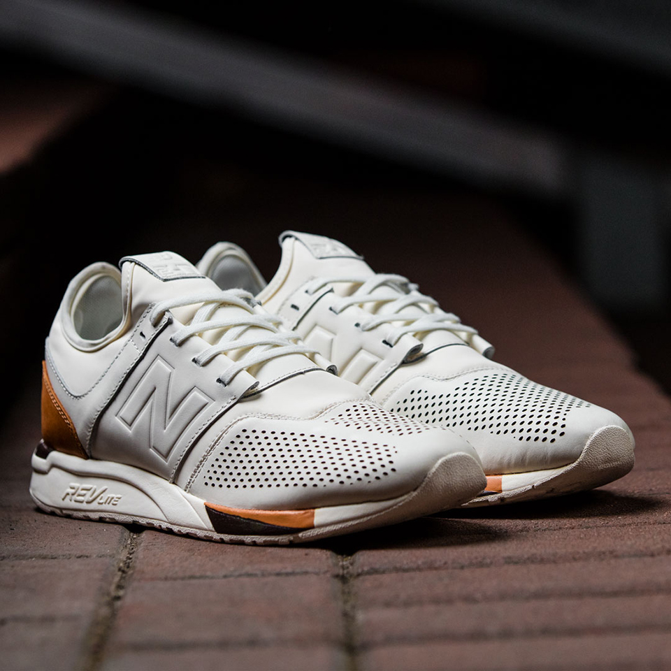 new balance 247 white and brown