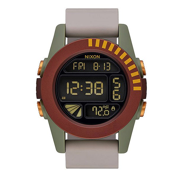 Nixon Marble Face: Nixon Unit Boba Fett Watch