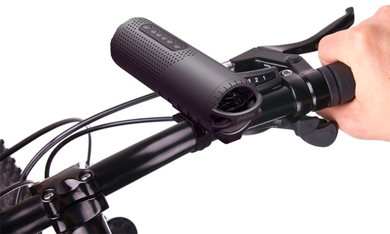 Photive Bike Headlight Speaker