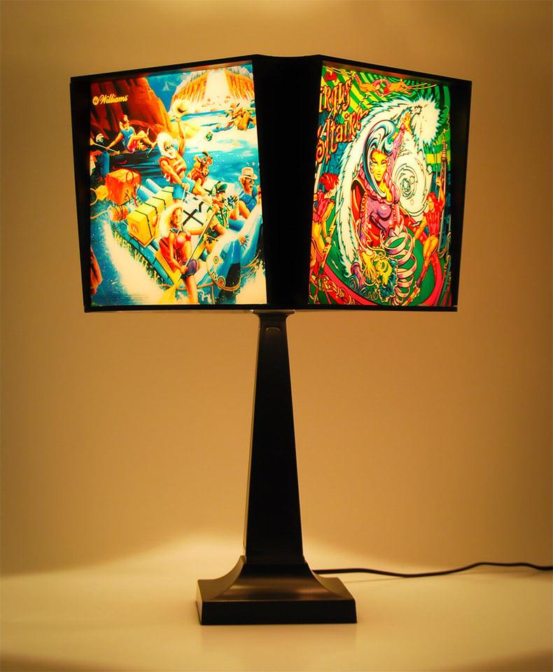 Pinball Lamp Shades