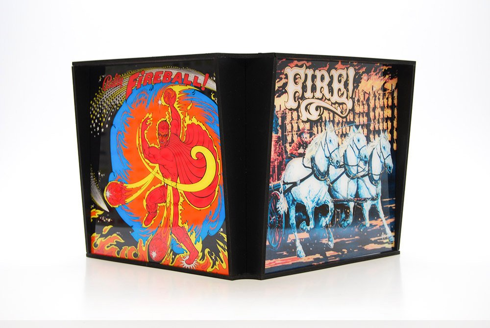 Pinball Lamp Shades