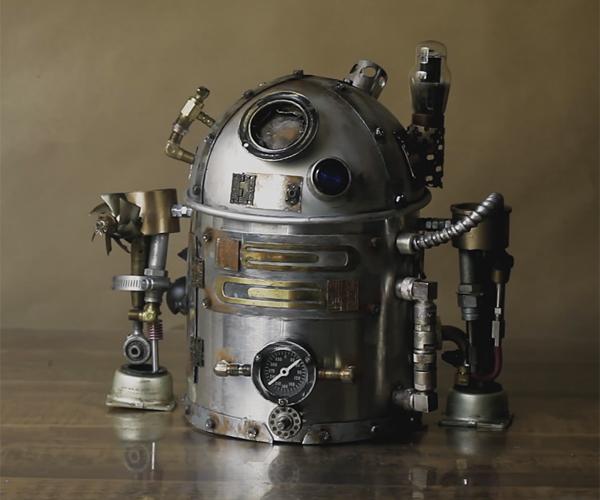 DIY R2-D2 Steampunk Teapot