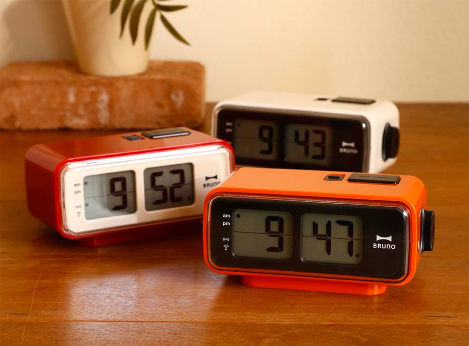Retro Digital Flip Alarm Clock