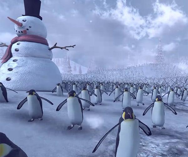 Santa Claus vs. The Penguins
