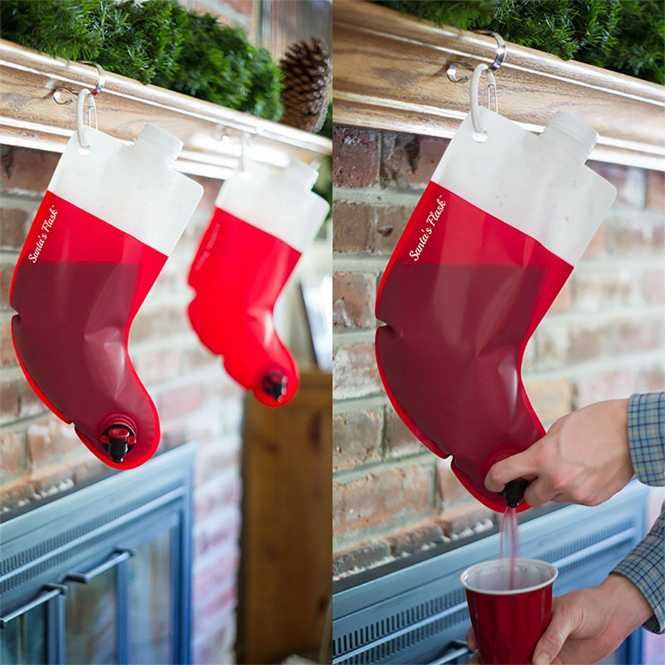 Deal: Santa's Stocking Flask