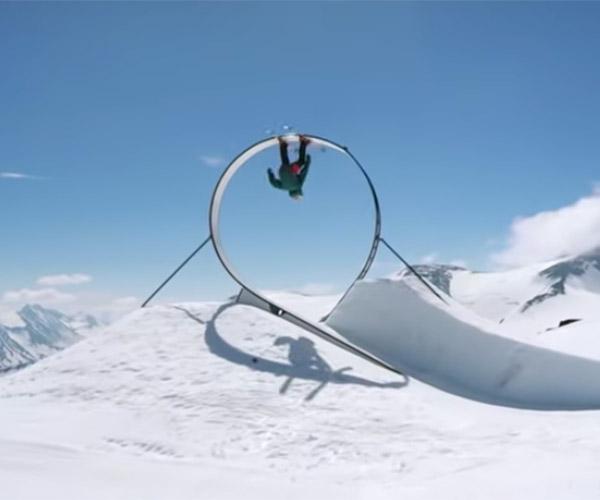 Ski Loop-de-loop