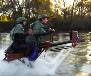 Speeder Bike Water Battle