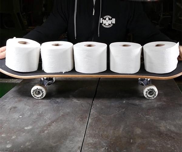 Toilet Paper Skateboard