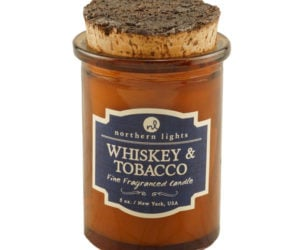 Whiskey & Tobacco Candle