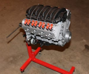 3D-Printed Camaro Engine