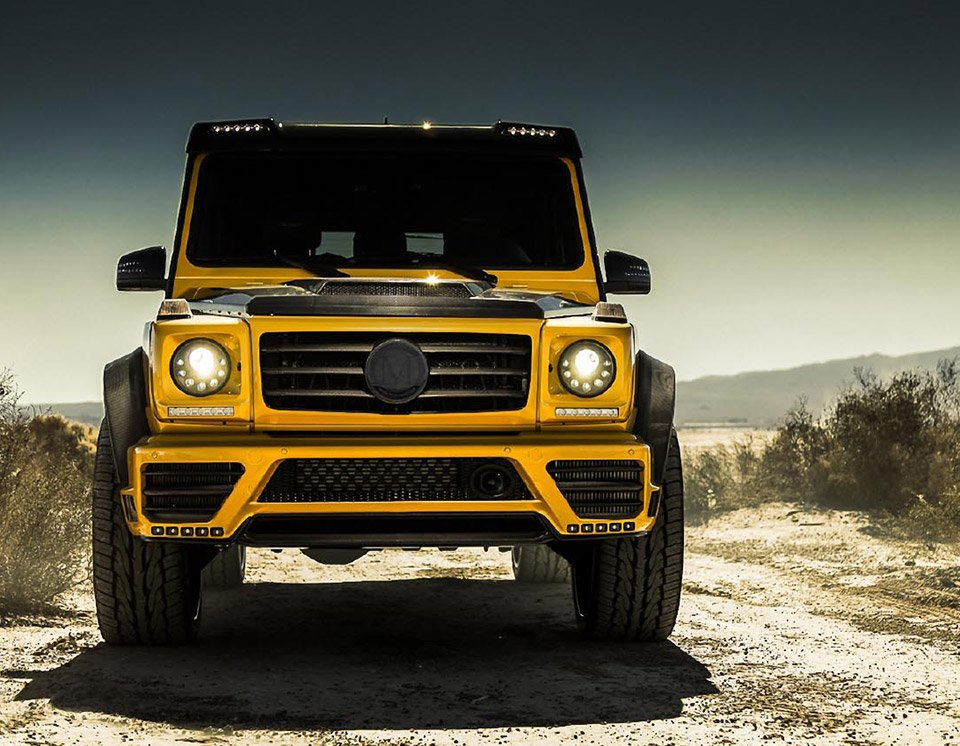 Mansory Mercedes G-Class Widebody