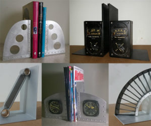 Giveaway: Airplane Part Bookends