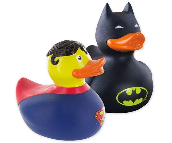 Batman & Superman Duckies