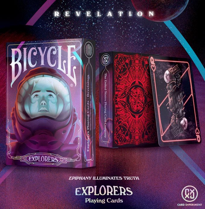Explorers Playing Cards