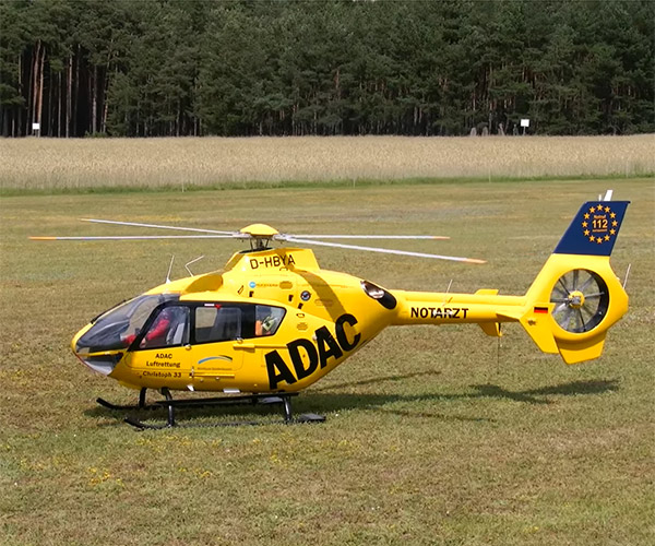 World's Biggest RC Helicopter