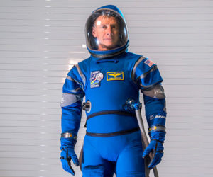 Boeing Blue Space Suit