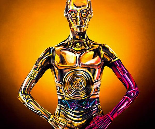 C-3PO Body Paint