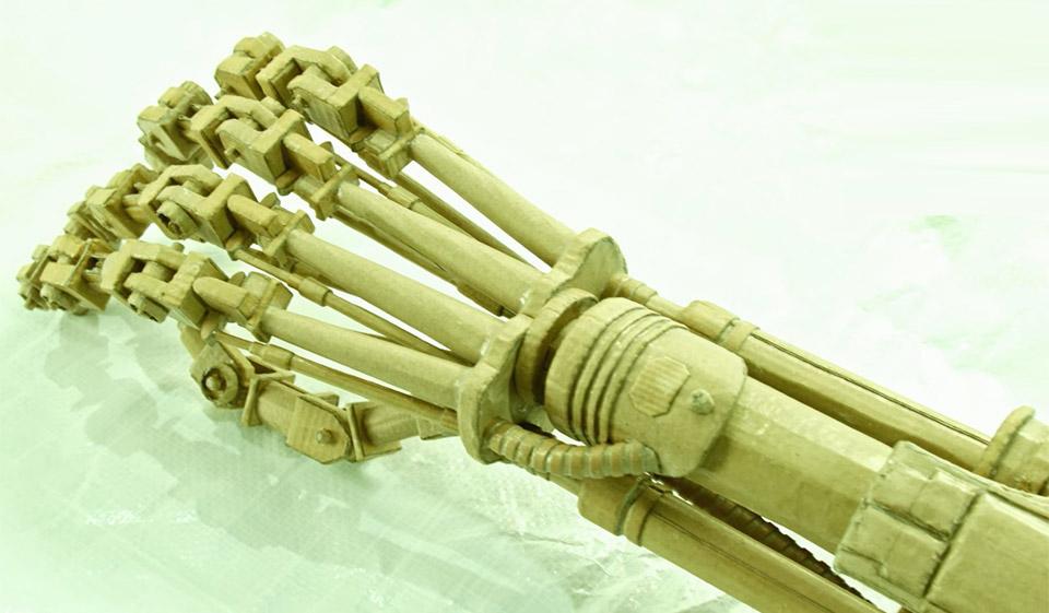 DIY Cardboard Terminator Arm