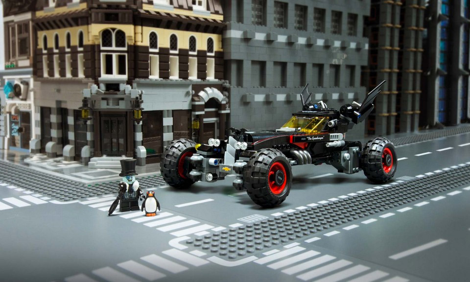 Chevy LEGO Batmobile