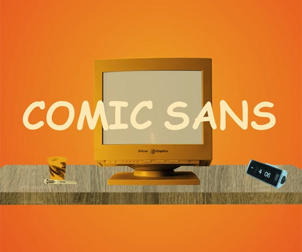 The Man Behind Comic Sans