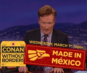 Conan Announces Made in Mexico