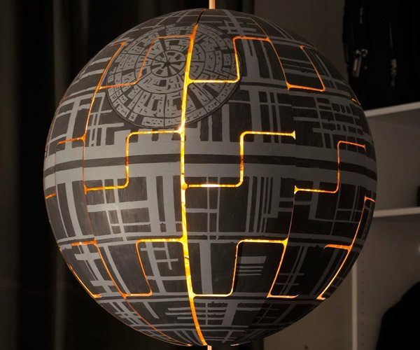 IKEA Death Star Lamp