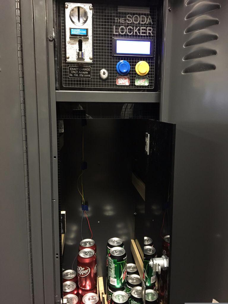 DIY Locker Vending Machine