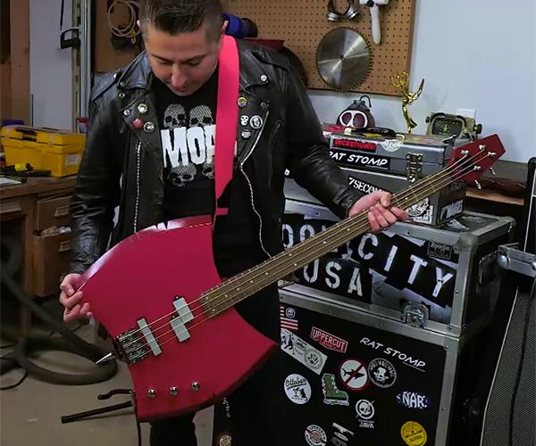 DIY Marceline's Ax Bass