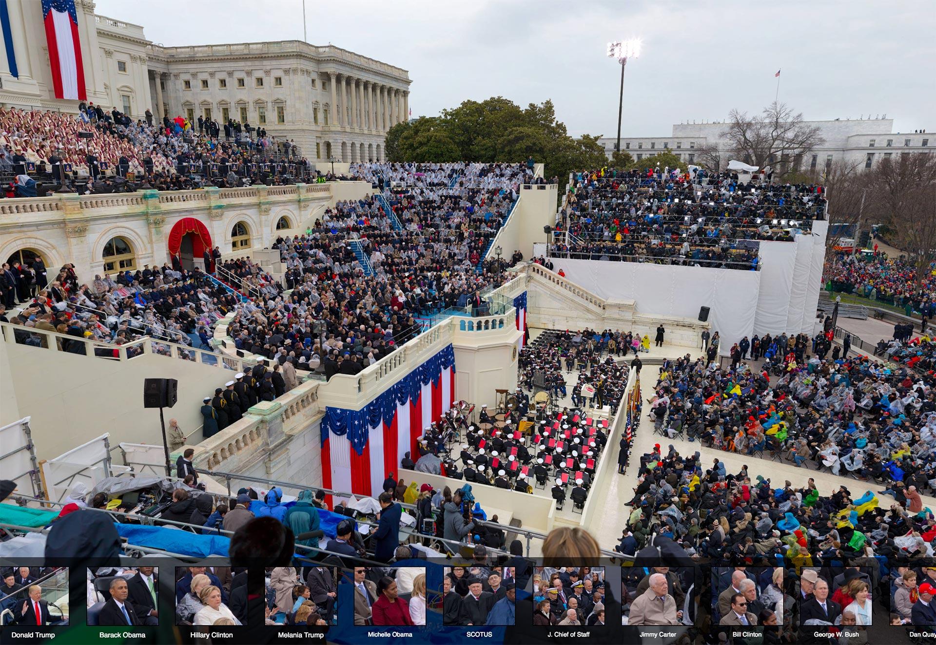 Gigapixel Inauguration