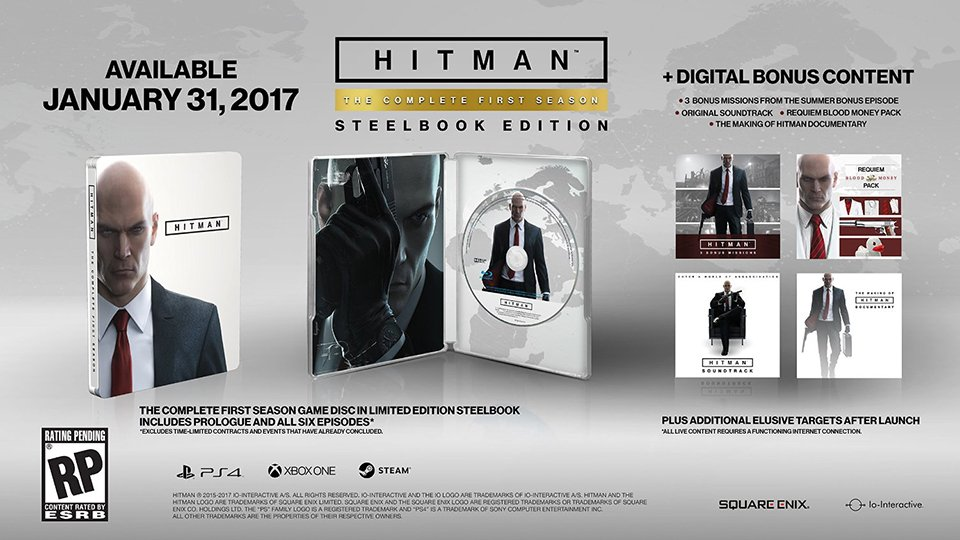Hitman Season 1 Disc Release
