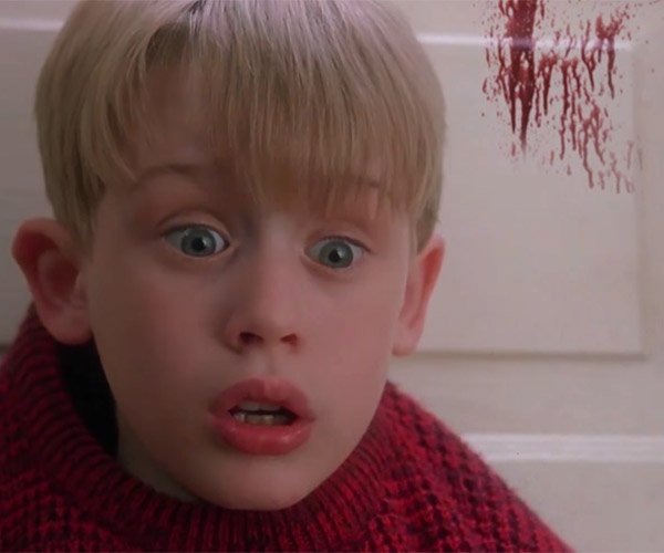Home Alone with Blood