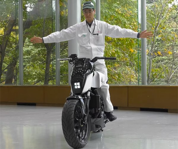 Honda Riding Assist Motorcycle