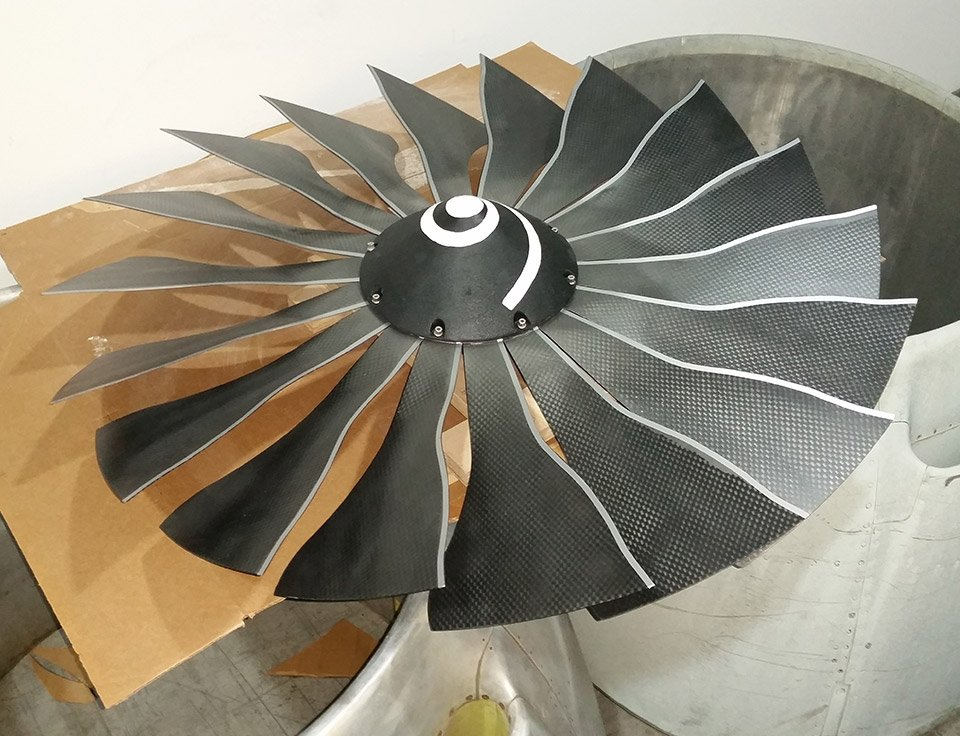 Jet Engine Ceiling Fan 2.0